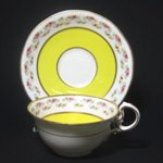 Aynsley Yellow Victorian Rose Tea Cup