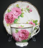 Royal Albert American Beauty Tea Cup