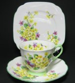 Vintage Royal Albert Primulette Trio