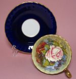 Aynsley Cobalt Signed Bailey Tea Cup