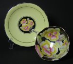 Paragon Pansies Tea Cup and Saucer