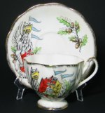 Queen's Beasts the Griffin Teacup and Saucer