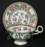 Radfords Japanese Floral Teacup and Saucer