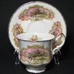 Paragon Chippendale Teacup and Saucer
