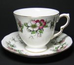 Queen Anne Apple Blossom Teacup