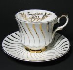 Queen Anne 50th Anniversary Teacup