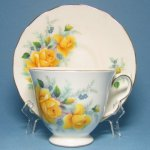 Queen Anne Yellow Roses Teacup