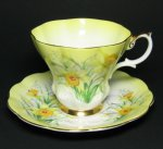 Royal Albert Yellow Daffodil Teacup and Saucer