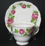 Royal Vale Roses Teacup and Saucer