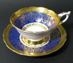 Royal Stafford Cobalt Gilt Teacup
