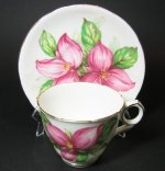 Royal Stafford Pink Trillium Teacup