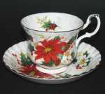Royal Albert Poinsettia Teacup