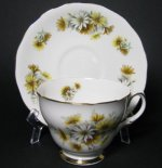 Colclough Daisies Teacup