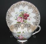 Paragon Gilt with Berries Teacup