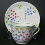 Phoenix Hand Painted Floral Teacup