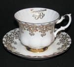 Royal Albert 50th Anniversary Teacup and Saucer