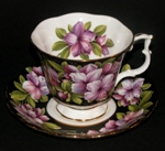 Royal Albert Azalea Teacup and Saucer