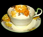 Aynsley Yellow Roses Teacup