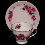 Colclough Pink Roses Teacup