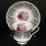 Paragon Gilt Floral Teacup