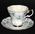 Royal Albert Ridged Floral Teacup