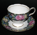 Paragon Gingham Rose Teacup