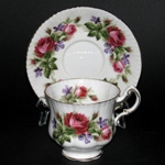 Paragon Red Roses Teacup