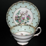 Grosvenor Gilt Floral Teacup