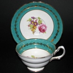 Grosvenor Red Rose Teacup