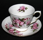 Pink Bouquet Teacup