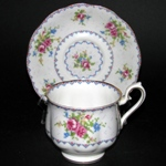 Petit Point China Teacup