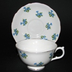 Blue Flowers Teacup
