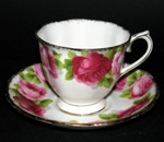 Old English Rose Teacup