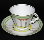 Art Deco Teacup