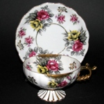 Japan Castle Pedestal Teacup