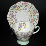 Delicate Flowers Teacup
