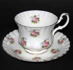 Royal Albert Forget-me-not tea cup