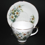 White Flowers Teacup