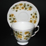 Yellow Flowers Teacup