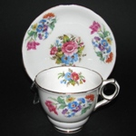 Floral Bouquet Teacup