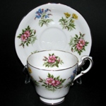 English Flowers Teacup