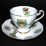 British Columbia Centenary Teacup