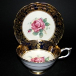 Cobalt Gilt Teacup