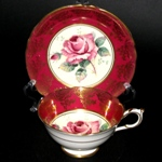 Paragon Wine Gilt Teacup