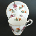 Orchids Chrysanthemums Teacup
