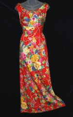 Vintage Andrade Hawaiian Dress