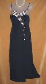 Joseph Ribkoff Navy Sailor Dress