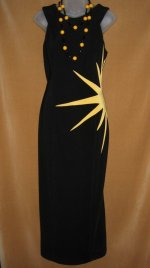 Joseph Ribkoff Sunburst Dress