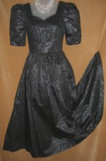 Laura Ashley Cotton Gown Party Dress