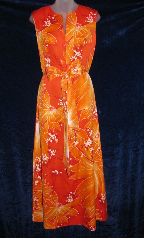 McInerny Tropicana Hawaii Fashions Floral Dress
